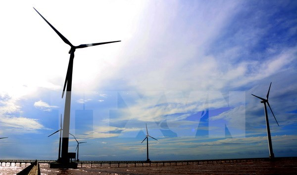 RoK helps Tra Vinh build wind power hinh anh 1