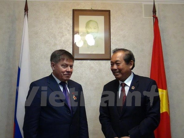 Vietnamese, Russian supreme courts strengthen ties hinh anh 1