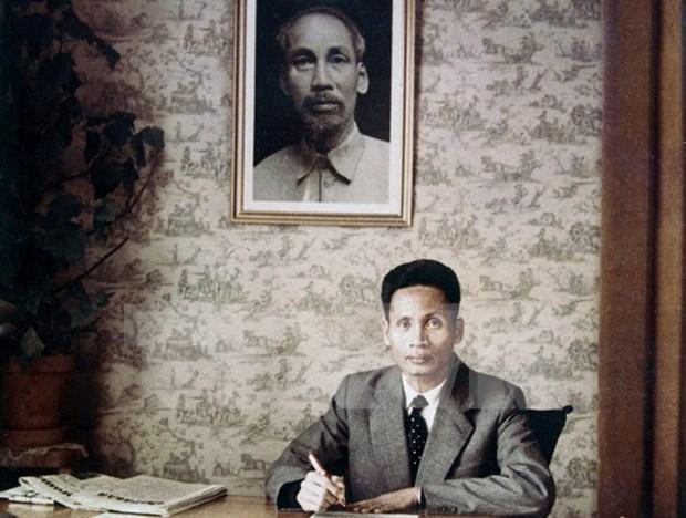 Pham Van Dong's 110th birth anniversary celebrated hinh anh 1