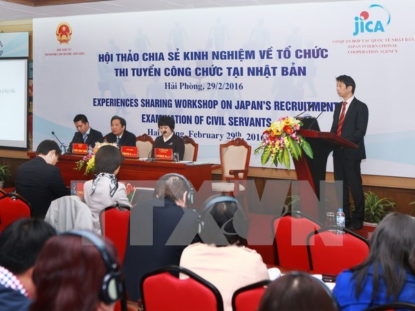 Vietnam, Japan share experience in civil service exams hinh anh 1