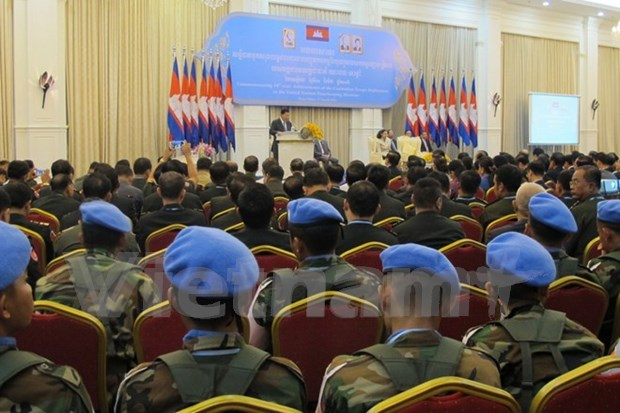 Cambodia marks decade of UN peacekeeping participation hinh anh 1