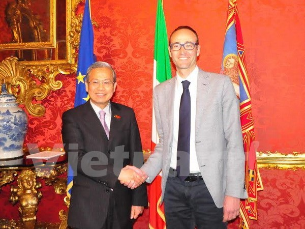 Italian region willing to reinforce ties with Vietnam: officials hinh anh 1