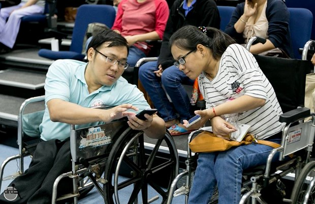 Disabled-friendly spots listed in mobile app hinh anh 1