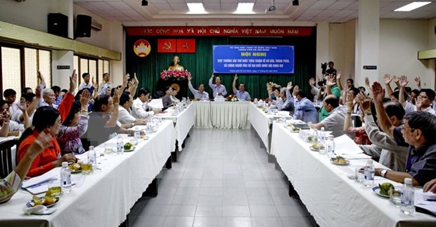 VFF stresses introduction of eligible candidates for general election hinh anh 1