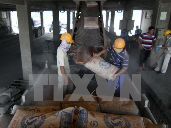Cement exported to South Africa hinh anh 1