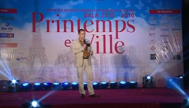 France alumni gather at gala night in Hanoi hinh anh 1