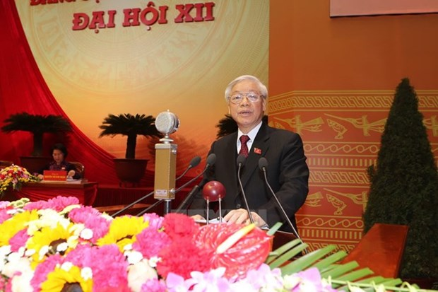 More congratulatory messages to Party Chief hinh anh 1