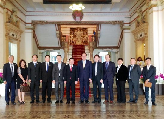 HCM City welcomes new business complex in hi-tech park hinh anh 1