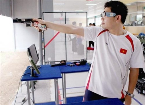 Vietnamese shooter wins bronze at ISSF World Cup hinh anh 1