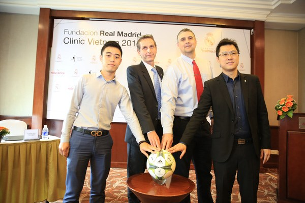 Real Madrid to hold footie camp in Hanoi hinh anh 1