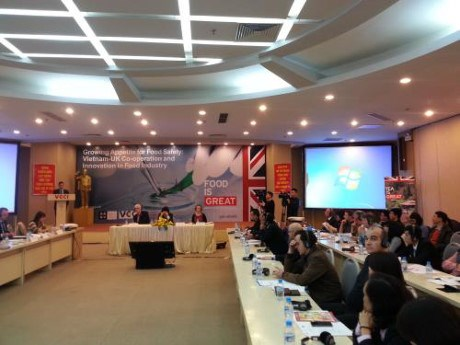 Vietnam, UK step up cooperation in food industry hinh anh 1