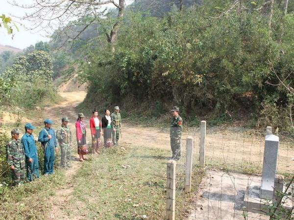 Ceremony to mark Vietnam-Laos border marker project hinh anh 1