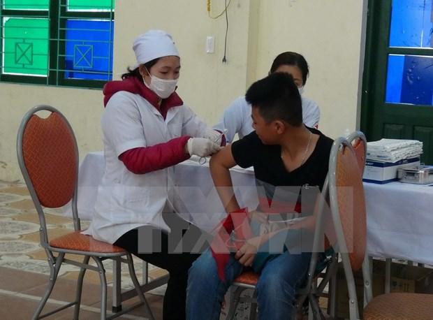 Ba Ria-Vung Tau launches measles-rubella vaccination campaign hinh anh 1