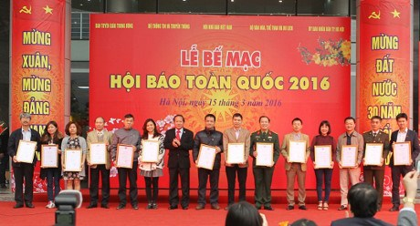 National press festival wraps up in Hanoi hinh anh 1