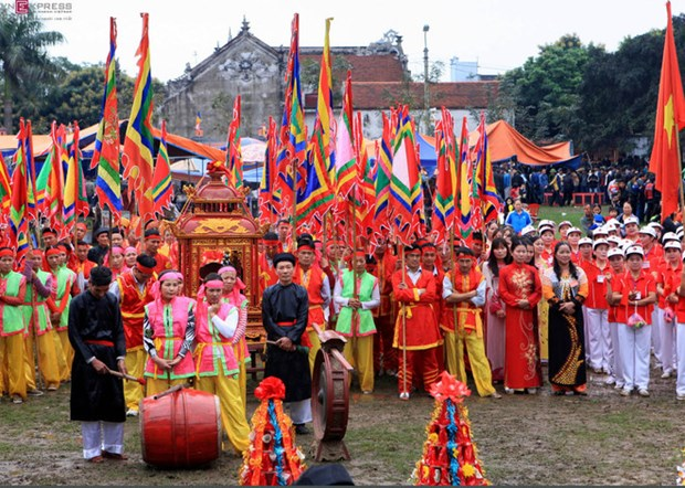 Festival honouring Quan Ho creator becomes national heritage hinh anh 1