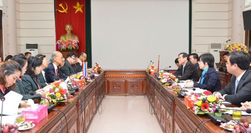 Bac Ninh, Thai King Institute share socio-economic growth experience hinh anh 1