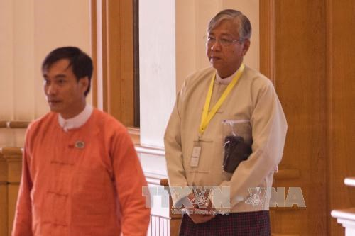 Htin Kyaw elected new President of Myanmar hinh anh 1