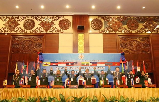 ASEAN military officers' unanimous stance on security challenges hinh anh 1