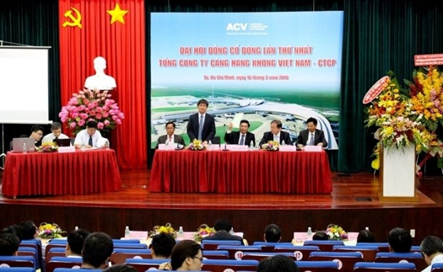 Vietnam Airports Corporation holds first meeting for shareholders hinh anh 1