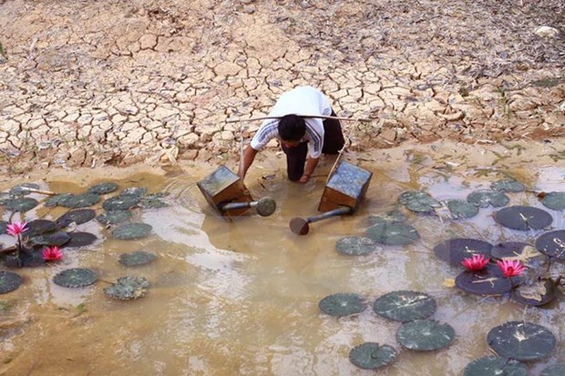 Vinh Long: Water supply upgrade to help drought-hit households hinh anh 1
