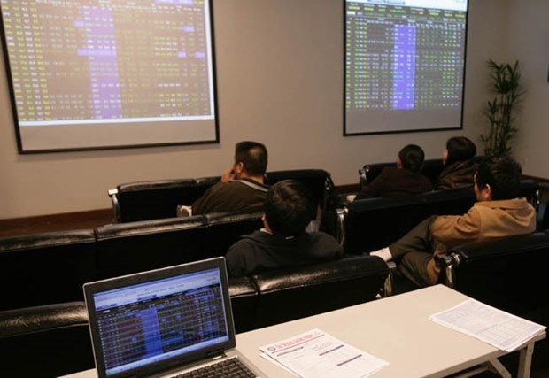 Financial stocks help Vietnam shares bounce back hinh anh 1
