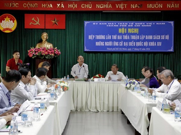 HCM City approves provisional list of candidates for 14th NA election hinh anh 1