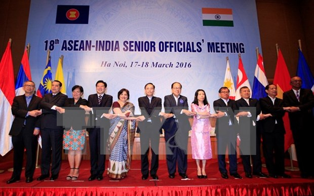 18th ASEAN-India SOM takes place in Hanoi hinh anh 1
