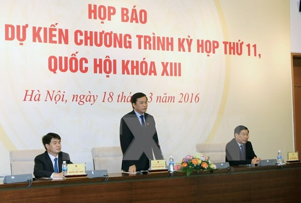 Key State positions to be elected at 13th parliament's last meeting hinh anh 1