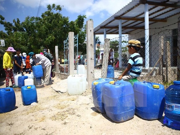 Mekong Delta: draft plans on water supply released hinh anh 1