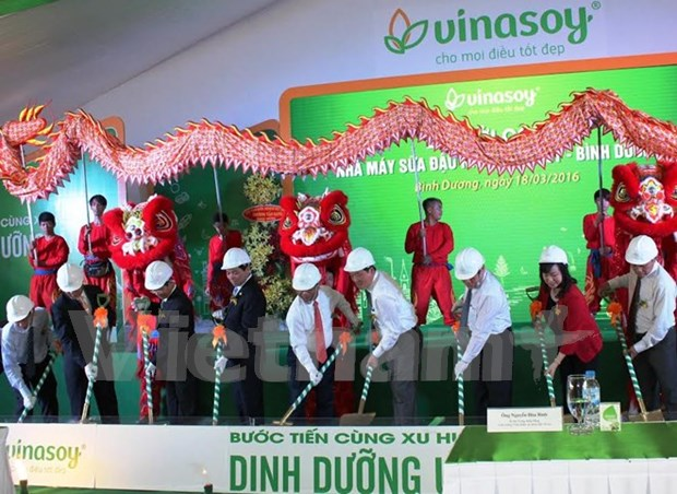 Vinasoy builds third plant in Binh Duong hinh anh 1
