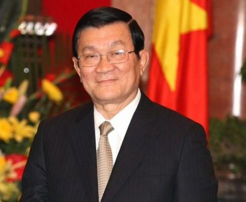 President Truong Tan Sang visits Dak Nong hinh anh 1