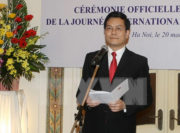International Francophone Day celebrated in Vietnam hinh anh 1