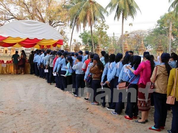 Lao people elect deputies to new-tenure legislature hinh anh 1