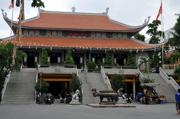Vinh Nghiem Pagoda receives Special National Relic title hinh anh 1