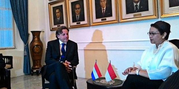 Indonesia, Netherlands to reinforce business partnership hinh anh 1