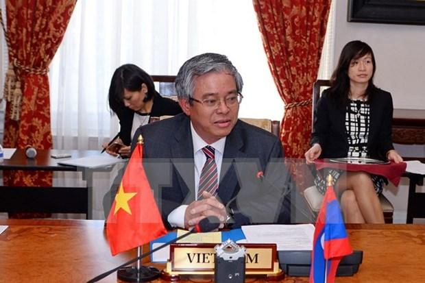 ASEAN Committee in Washington hold regular meeting hinh anh 1