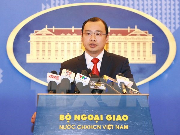 Vietnam demands Taiwan to respect its sovereignty hinh anh 1