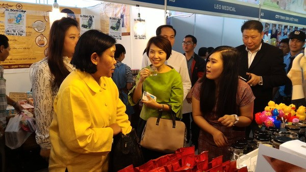 Thai trade fair opens in HCM City hinh anh 1