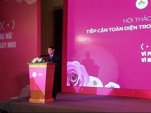 Experts share experience on breast cancer treatment hinh anh 1