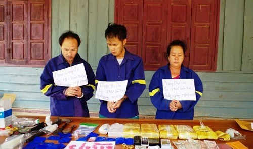 Vietnamese, Lao localities join hands in drug prevention hinh anh 1