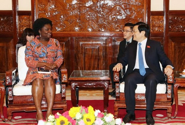 President receives WB Country Director hinh anh 1