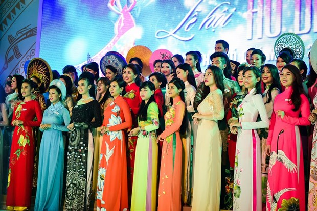 Festival honours ao dai based on songs by Trinh Cong Son hinh anh 1