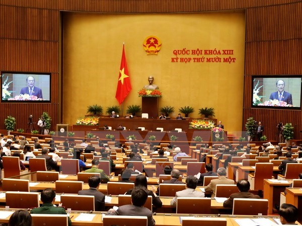 Lawmakers vote to relieve NA Chairman from duty hinh anh 1