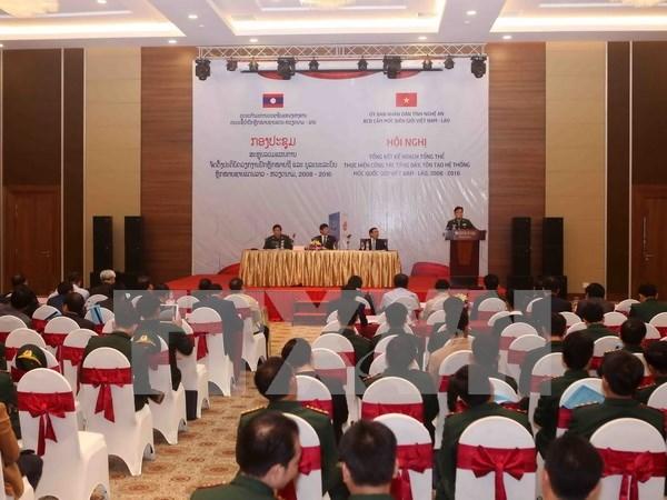 Vietnam-Laos border demarcation reviewed hinh anh 1