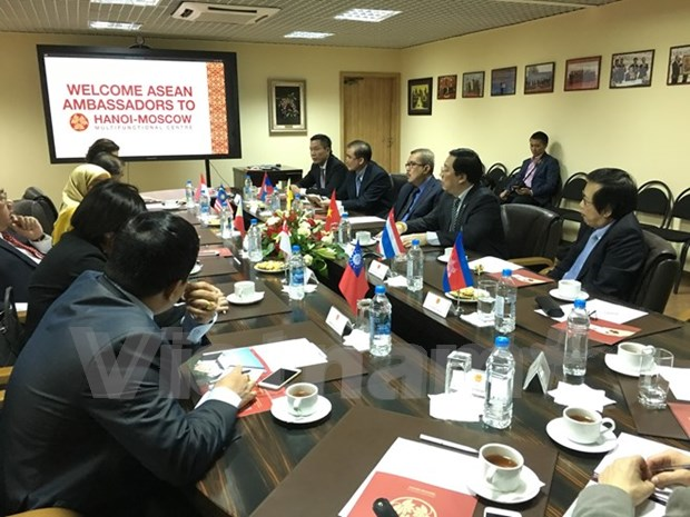 ASEAN Ambassadors support stronger ties with Russia hinh anh 1