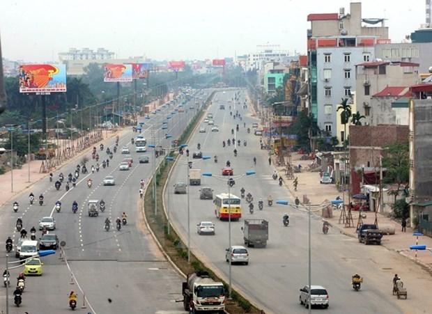 Hanoi hastens transport construction to reduce traffic jams hinh anh 1