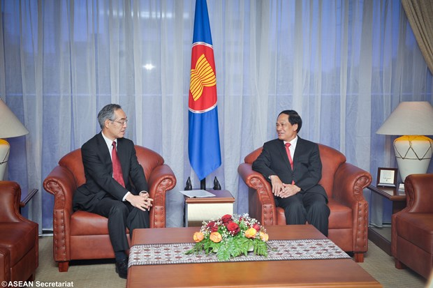 New Japanese Ambassador to ASEAN vows to boost bilateral ties hinh anh 1