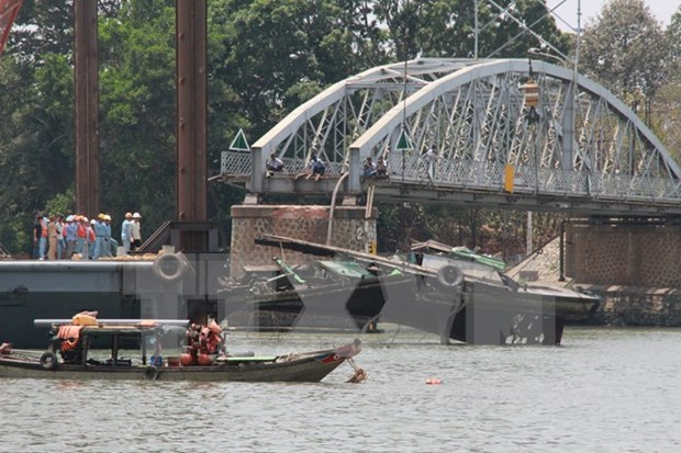 Construction work on new Ghenh bridge starts hinh anh 1