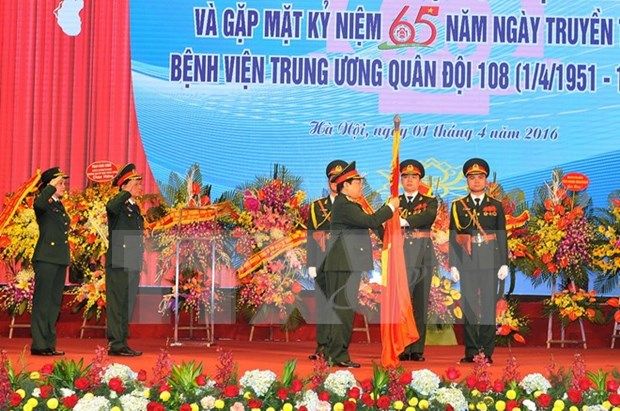 Military hospital gets credit for 65-year contribution hinh anh 1