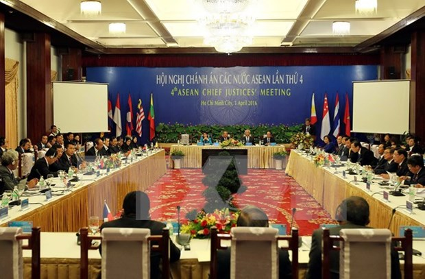 ASEAN Chief Justices gather in HCM City hinh anh 1